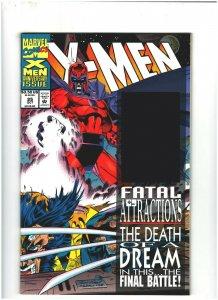 X-Men #25 VF/NM 9.0 Marvel Comics Gambit Hologram, Wolverine vs. Magneto