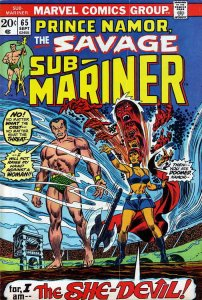 Sub-Mariner, The (Vol. 2) #65 FN; Marvel | save on shipping - details inside