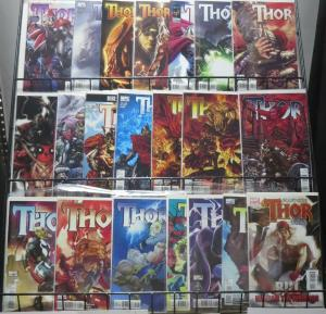 THOR MODERN COLLECTION! 21 issues! Marvel, 2007 Straczynski, Matt Fraction VF-NM