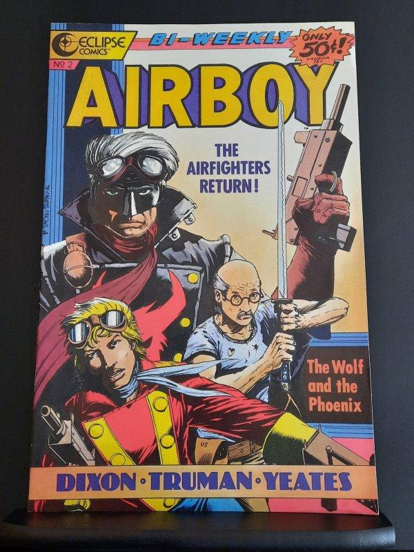 Airboy #2 (1986) VF