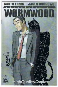 WORMWOOD, Chronicles of, Preview, NM, Signed Jacen Burrowsm, Garth Ennis, 2006