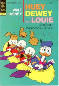 HUEY DEWEY & LOUIE (1966-1984 GK) 24 F-VF Jan. 1974 COMICS BOOK