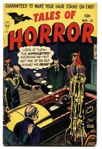 Tales Of Horror #12 1954- Precode horror- Vampires- Torture FN-
