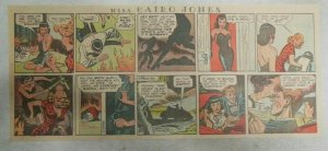 Miss Cairo Jones Sunday by Bob Oksner from 7/7/1946 Size: 7.5 x15 inches GGA