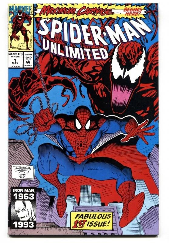 Spider-Man Unlimited #1 1993 comic book First Maximum Carnage  Marvel