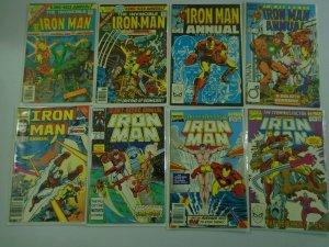Iron Man Annual Comic Lot #3-15 (15 DIFF) - 7.0 FN/VF (6.0-8.0)- 1976-2008