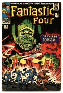 Fantastic Four #49 comic book 1966 1st Silver Surfer cvr vg+