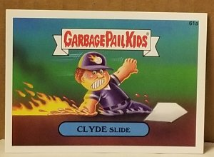 2015 Garbage Pail Kids  #61a Clyde Slide