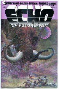 ECHO of FUTUREPAST #2, NM, 1984, Neal Adams, Arthur Suydam, Hama, Golden