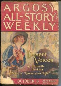 Argosy All-Story Weekly 10/26/1923-Avenging Shepherd Part 3-pulp thrills-G