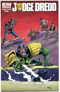 JUDGE DREDD #11 B, NM, IDW,  2012, Sci-fi, Police, I am the Law, more in store