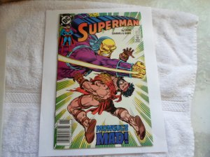 1989 DC COMICS SUPERMAN BY SRERN, GAMMILL, & JANKE # 32