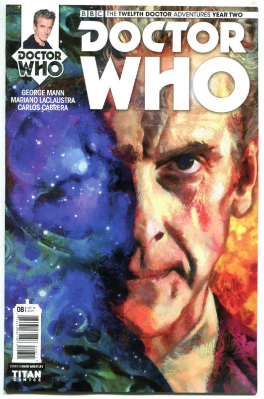 DOCTOR WHO #8 A, NM, 12th, Tardis, 2016, Titan, 1st, more DW in store, Sci-fi