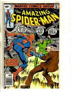 Lot Of 5 Amazing Spider-Man Marvel Comic Books # 192 193 195 196 197 Goblin GK5