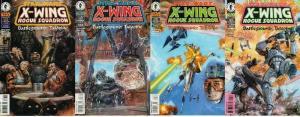 STAR WARS X WING ROGUE SQUADRON Battleground Tatooine COMICS BOOK