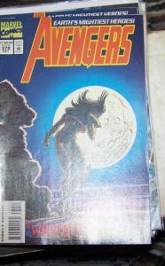 Avengers # 379 (Oct 1994, Marvel) CAP THOR IRONMAN SCARLET WITCH