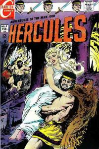 Hercules (Charlton) #3 FN; Charlton | save on shipping - details inside