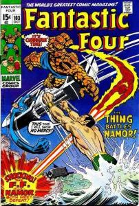 Fantastic Four (1961 series) #103, VF+ (Stock photo)