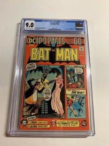 Batman 257 Cgc 9.0 Ow/w Pages Dc Comics Bronze Age