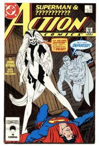 ACTION #595 First appearance SILVER BANSHEE-SUPERMAN-comic book