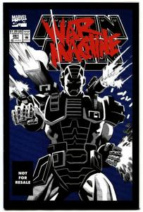 IRON MAN #281-FIRST WAR MACHINE-MARVEL RARE REPRINT