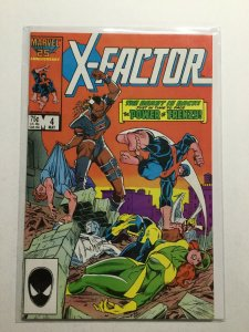 X-Factor 4 Near Mint Nm Marvel