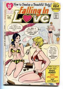 FALLING IN LOVE #125 COMIC BOOK SWIMSUIT COVER 1971-DC ROMANCE