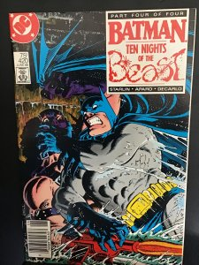 Batman #420 (1988) high-grade 10 nights of the best four. KG beast cover! NM-
