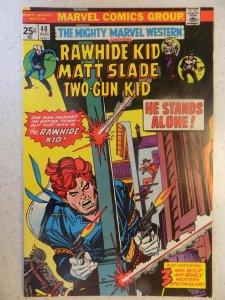 MIGHTY MARVEL WESTERN # 40 RAWHIDE TWO GUN