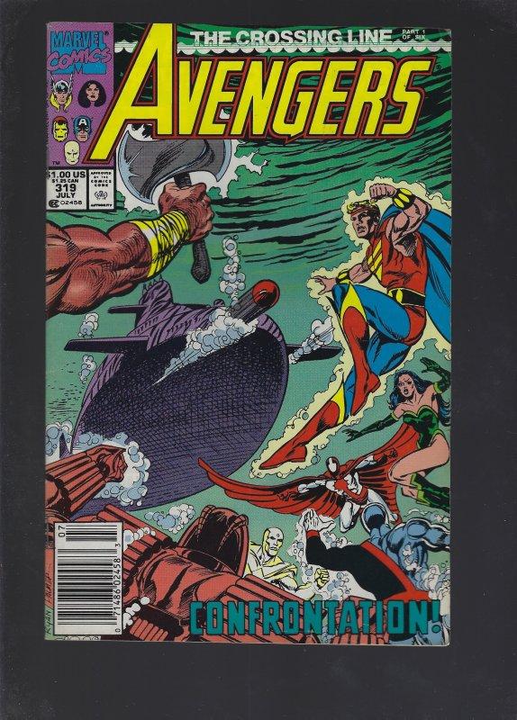 The Avengers #319 (1990)