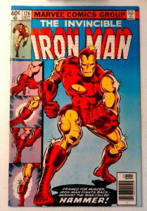 Iron Man #126 Marvel 1979 VF- Bronze Age Comic Book 1st Print
