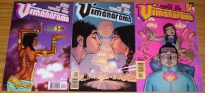 Vimanarama #1-3 VF/NM complete series - grant morrison - hindu? vertigo comics