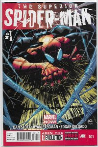 Superior Spider-Man   vol. 1   #  1 (1st print) VF (Marvel Now)