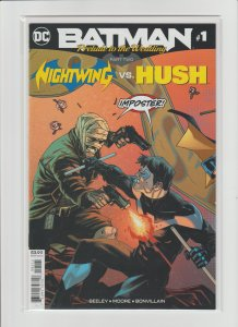Batman Prelude to the Wedding: Nightwing vs. Hush #1 NM- 9.2