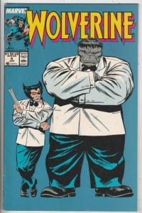 Wolverine #8 (Jun-89) NM- High-Grade Wolverine