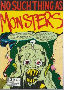 NO SUCH THING AS MONSTERS #3 - CHORUS COMICS - 1986