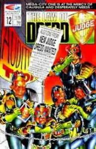 Law of Dredd, The #12 VF/NM; Fleetway Quality   save on shipping - details insid