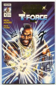 Mr T and the T-Force Advance Edition Press Kit 1993 signed by MR T