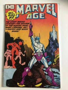 MARVEL AGE #1 1983 MARVEL / THE STORY OF CRYSTAR / MID GRADE / NEVER READ