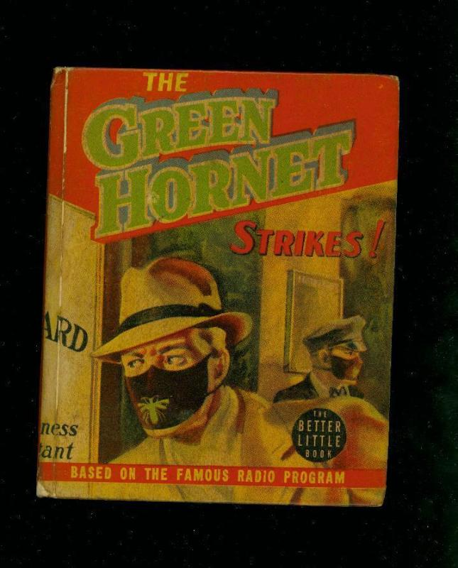 THE GREEN HORNET STRIKES-#1453-BIG LITTLE BOOKS-1940-vg/fine VG/FN
