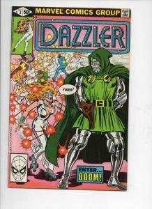 DAZZLER #3, VF/NM, Doctor Doom, 1981, more Marvel in store