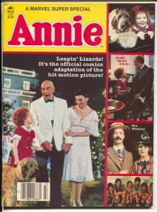 Annie Movie Edition #23 1982-Aileen Quinnstar bios & pics-VF-