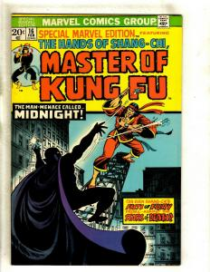 Special Marvel Edition # 16 VF Comic Book Feat. Shang Chi Master Of Kung Fu RS1