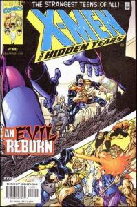 Marvel X-MEN: THE HIDDEN YEARS #10 NM