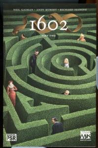 MARVEL 1602 #2, NM+, Neil Gaiman, Kubert, Thor, DD, X-men, Richard Isanove, 2003