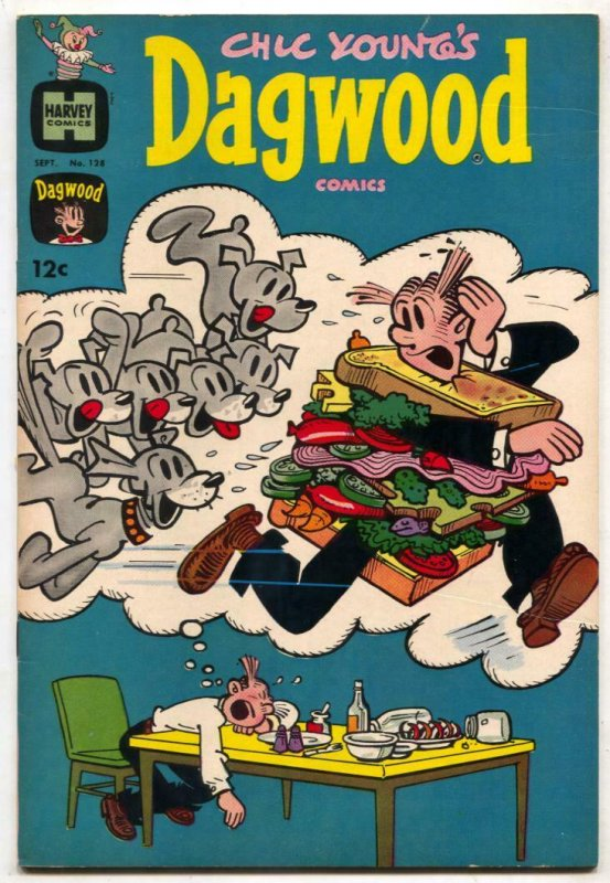 Dagwood #126 1962- Harvey comics- high grade VF