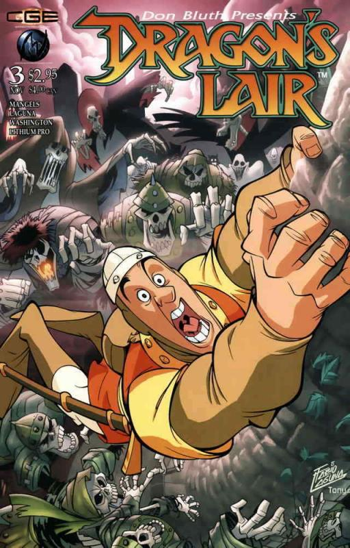 Dragon's Lair #3 VF/NM; CrossGen | save on shipping - details inside