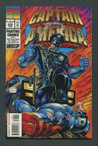 Captain America #428 /  9.2 NM-   June 1994