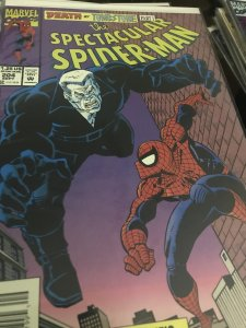 Marvel The Spectacular Spider-Man #204 Mint Tombstone
