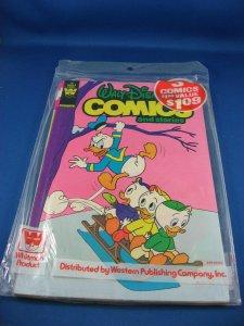 WALT DISNEY COMICS AND STORIES SEALED PREPACK WHITMAN 487-489